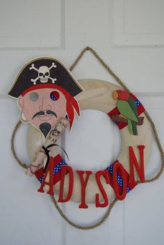 Well the pirate dude is kind of creepy, but it is a cute idea!