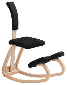 Varier Variable Kneeling Chair from Back in Action - leading back pain experts. Varier Variable Kneeling Chair on fast delivery.  sc 1 st  Pinterest & SOLID WOOD ERGONOMIC ADJUSTABLE KNEELING CHAIR IN FOLDED-FACTORY ... islam-shia.org