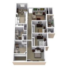 3 Bedroom Floor Plan | Slate Creek at Johnson Ranch 2