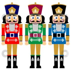 Nutcracker Illustrations and Stock Art. Nutcracker illustration and vector EPS clipart graphics available to search from thousands of royalty free stock clip art designers. Nutcracker Image, Nutcracker Crafts, Nutcracker Sweet, Nutcracker Christmas, Christmas Art, Vintage Christmas, Christmas Holidays, Christmas Decorations, Xmas