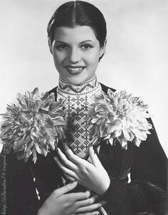 Margarita Cansino before she became Rita Hayworth.