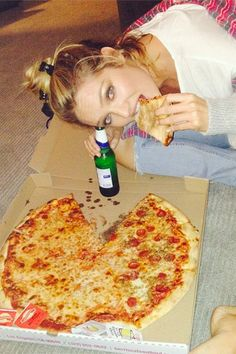 Angels also sin with pizza: Candice Swanepoel