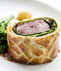 Venison makes a gamier alternative to beef and the loin is perfect for using in a Wellington. Chef Andy McLeish recommends using Sika venison for this venison Wellington recipe. Serve the Wellington with your favourite choice of seasonal veg - you can peruse our collection of sides for inspiration.