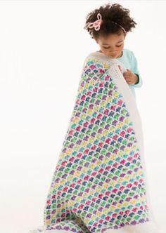 Rainbow Afghan Pattern