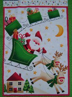. Christmas Fabric Panels, Christmas Ornaments, Holiday Decor, Home Decor, Decoration Home, Room Decor, Christmas Jewelry, Christmas Decorations, Home Interior Design