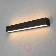 Kantet utendørs LED-vegglampe Tuana-9616092-30