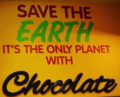We Must Save the Earth!!