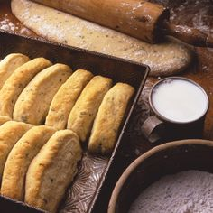 Parmesan Butter Pan Biscuits ***Used to make these as a teen. Sooo good, I was craving this but no longer have the cookbook. Mmm
