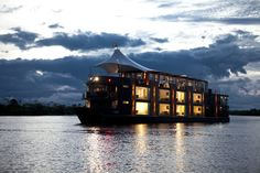 Aqua Expeditions cruise the Peruvian Amazon in a floating 5-star hotel