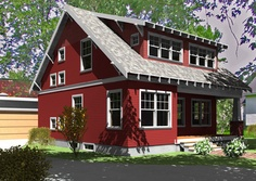 All About Exterior Paint | More Red houses and Exterior ideas