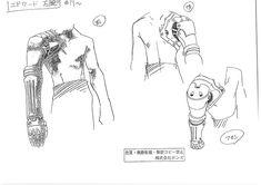 anime settei, , Fullmetal alchemist, settei pre, settei sheet, model sheet