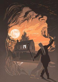 Twin Peaks: Leland Palmer / Killer Bob / A3 Art by PeteLloydArt