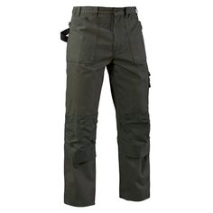 Blaklader 1670 Brawny Work Pants - Antique Moss - These Blaklader work pants are as tough as armor and light as a feather. The cotton canvas material makes them as comfortable as your oldest jeans. The Cordura reinforcements and triple stitching make them as tough as brand new bulletproof vest. If durability and functionality isn't what you're looking for, you came to the wrong place. If you're a leader, start wearing pants like a leader. | FullSource.com