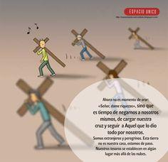 Cargar nuestra cruz y seguir a Jesús