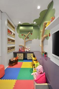 Kids Room Design Ideas with Brilliant Layout Design Kid Room Design Furniture And Accessories – Lumax Homes Playroom Design, Kids Room Design, Playroom Ideas, Kid Playroom, Kindergarten Design, Kids Play Area, Play Room Kids, Kids Rooms, Play Areas