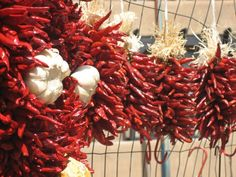 Garlic and red chile - a lovely combination!