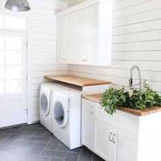Making over my mudroom/laundry this summer. This room by @studiomcgee is my inspiration. Clean, simple...classic. Love it! Sharing my first project on the blog today where I show how I transformed a budget light fixture to look like I splurged. @truevalue