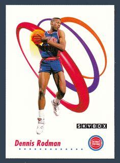 Dennis Rodman # 86 - 1991-92 Skybox Basketball