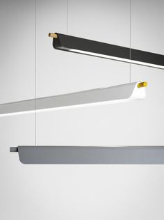 Find out all of the information about the ZERO product: hanging light fixture / LED / linear / metal TRAPETS by Note Design Studio. Linear Pendant Lighting, Diy Pendant Light, Pendant Light Fixtures, Pendant Lamp, Office Lamp, Office Lighting, Interior Lighting, Lighting Design, Note Design Studio