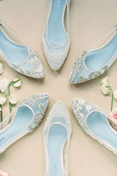 Lace Flats Wedding Shoes -  Stylish And Comfortable ❤ See more: http://www.weddingforward.com/comfortable-wedding-shoes/ #weddings