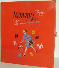 Vintage Tammy Doll Case Ideal Toy 1960s by CherryRiversVintage, $29.00