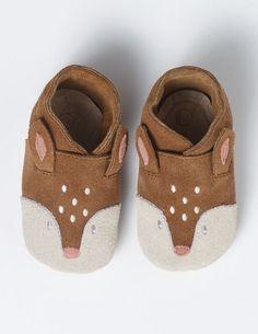 Baby Deer Shoes (Tan)