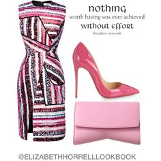 A fashion look from July 2015 featuring Prabal Gurung dresses, Christian Louboutin pumps and Narciso Rodriguez clutches. Browse and shop related looks. Chic Outfits, Fashion Outfits, Womens Fashion, Professional Wardrobe, Complete Outfits, Dress To Impress, Beautiful Outfits, Body, Polyvore Fashion