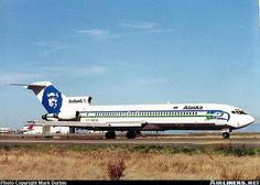 Alaska Airlines, Boeing 727