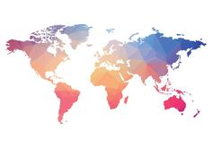 Polygonal World Map PSD - Free Photoshop Brushes at Brusheezy!