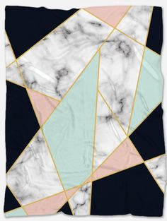 Provide warmth and comfort with this Marble Throw Blanket. With its incredible design and vibrant colors, it will make your home even more beautiful. Not only that but it will make you feel extreme coziness with its soft and warm fabric. It is a perfect gift for someone you want to make happy and at the same time feel comfortable. It is handmade just for you and has a unique design that can't be found anywhere else. Polar Fleece Blankets, Make Happy, Vibrant Colors, Marble, The Incredibles, Warm, Make It Yourself, Quilts, Modern