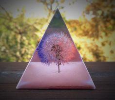 A personal favorite from my Etsy shop https://www.etsy.com/listing/293645261/pyramid-keepsake-bicolor-dandelion