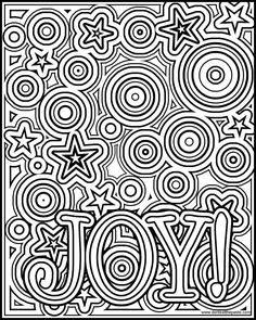 Joy coloring page- available in a negative version as well in both JPG and transparent PNG format. Make your world more colorful with free printable coloring pages from italks. Our free coloring pages for adults and kids. Christmas Coloring Pages, Coloring Book Pages, Printable Coloring Pages, Coloring Sheets, Free Coloring, Coloring Pages For Kids, Mandala Coloring, Christmas Colors, Art Plastique