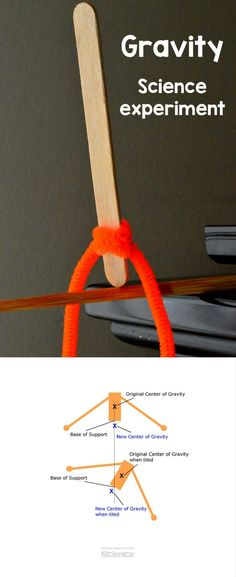 A Craft Stick Can Stand Upright? Cool #Gravity #STEMActivity