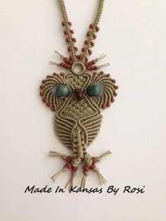 Macrame owl                                                                                                                                                                                 More