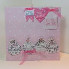 Card created using Love a Cuppa collection designed by Julie Hickey… Card Tags, Gift Cards, Craftwork Cards, Craft Work, Cardmaking, Card Ideas, Birthday Cards, Projects To Try, Feminine