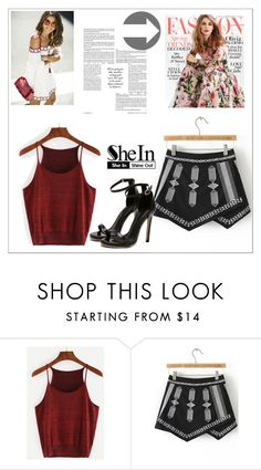 """""""Shein 5"""" by fashion-addict35 ❤ liked on Polyvore featuring Gabor"""