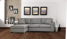"""Ronnie 109"""" Left-Facing Sleeper Sectional"""