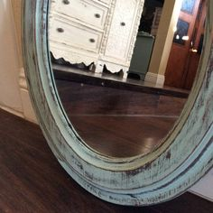 82 Frameless Beveled Oval Mirror