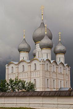 orthodox church, rostov kremlin, rostov, russia