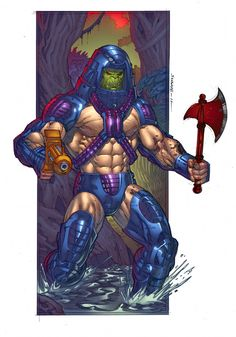 Man-E-Faces from Masters of the Universe