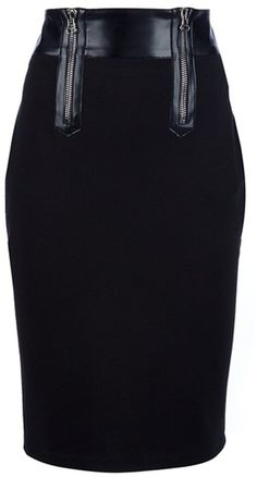 PIERRE BALMAIN Stretch Pencil Skirt