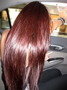 5 Luscious Cherry Coke Red Hair Color Ideas for You in This 2019 : try them on! Are you looking for a lovely Cherry Coke Red Hair Color for your hair? You should take a look at the collection where we have got some unavoidable Nail Art Peacock Design. Hair Dye Colors, Red Hair Color, Red Color, Colour, Hair Day, New Hair, Cherry Coke Hair, Cherry Cola Hair Color, Cherry Red Hair