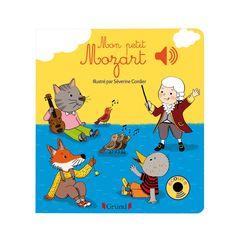 Mon premier livre sonore à la découverte de Mozart ! Une illustration évoquant l'atmosphère joyeuse des airs de Mozart accompagne une interprétation des airs les plus connus destinés aux enfants. En écoutant ses premiers airs de musique classique, le petit peut observer les détails de l'image tout en étant autonome. Il retrouvera au fil des pages : Ah vous dirais-je maman, l'Alphabet, La marche turque, la petite musique de nuit, la Sonate n°16 et le célèbre air des clochettes.