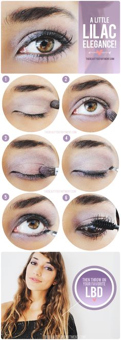 PRETTY PARTY EYE! If you have hazel, brown or green eyes, try this gorgeous look on your next night out!