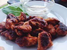 "Healthy Game Day Recipe: Vegetarian Cauliflower Buffalo ""Wings"""
