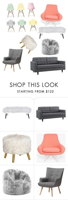 """""""Untitled #1"""" by joliebarnes1 on Polyvore featuring interior, interiors, interior design, home, home decor, interior decorating, Dot & Bo, Softline, Comfort Research and Baxton Studio"""