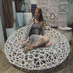Mermaid pose! #gldglove . . . . . #web #indooroutdoor #marineresin #poolside #oceanside @Regrann from @veronicalifestylesaint -  @hdexpo #lifestylesaint  #veronicabrooks @goldleafdesigngroup  #seAting #outdoor furniture #3-D wall art #green walls #wall play #LOVE ME #HEART THROB #XO OX XO #ROCK TOWERS #suspended tree #macrame #web screen #web day bed - #regrann