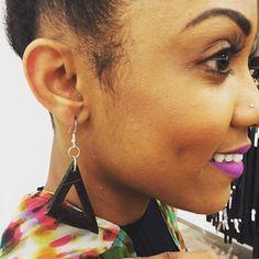 #wood_n_knots #wood #ootd #frenchquarter #nola #neworleans #memorialdayweekend #new #earrings #accessories #ladies #fashion #geometric #triangles#oneofakind by wood_n_knots