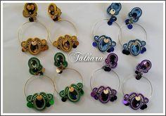 SOUTACHE Soutache Jewelry, Pandora Charms, Bracelets, Instagram Posts, Handmade, Diy, Stud Earrings, Necklaces, Earrings