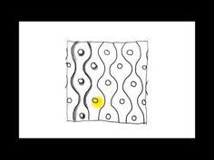 ▶ Zentangle Patterns | Tangle Patterns? - Slalom - YouTube